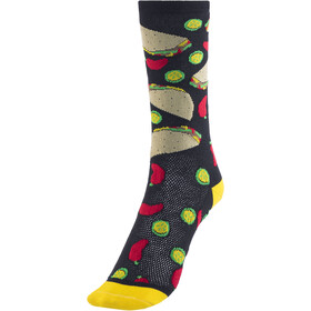 "DeFeet Aireator 6"" Socks taco tuesday (schwarz)"